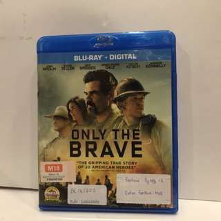 ONLY THE BRAVE BLU RAY