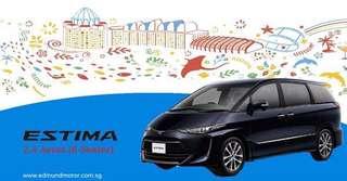 Toyota Estima 2.4 Auto Aeras 8-Seater Moonroof