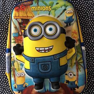 Minions 2D backpack