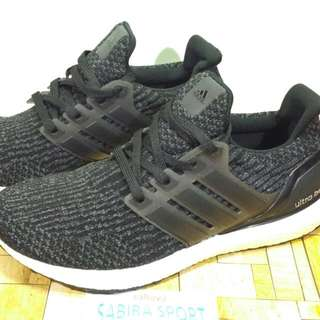 Sepatu Adidas Ultraboost 4.0 Blackwhite.