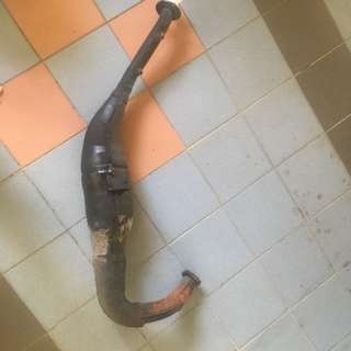 Krr exhaust pipe