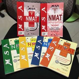 NMAT reviewer for med student applicants