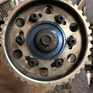 civic k8-k6凸輪軸vtec可調皮帶盤