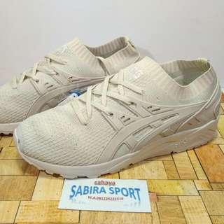 Sepatu Asics Gel Kayano Knit Agave Cream.