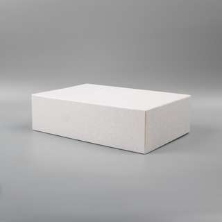 White Textured Box