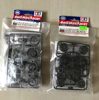 Tamiya Mini 4wd Wheel Sets
