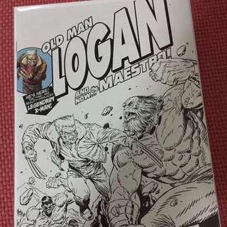 Marvel Old Man Logan #25 Black/White Variant