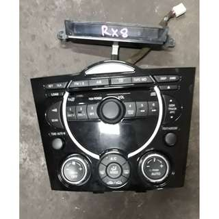 MAZDA RX8 RADIO PANEL WITH CD PLAYER