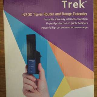 NETGEAR Trek N300 Travel Router, Range Extender, and Wireless Bridge (PR2000)