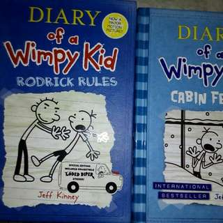 Diary Of A Wimpy Kid (2 books)