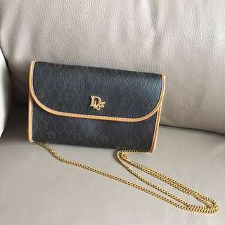 99%new Christian Dior Crossbody Leather Bag