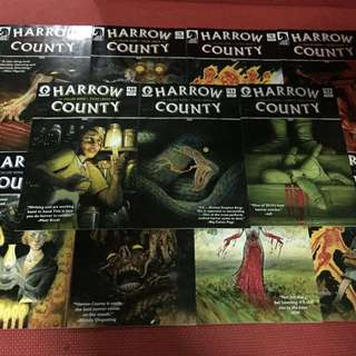 Dark Horse Harrow County #1-12 excluding #9