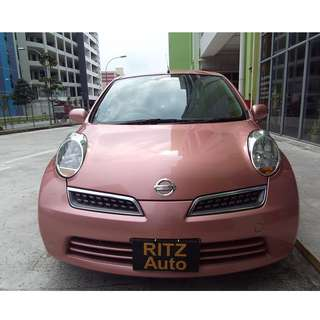09 Nissan March 1.4A UBER GRAB PERSONAL Rental