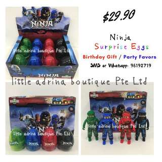 Ninja Surprise Eggs / Party Favor / Birthday Gift