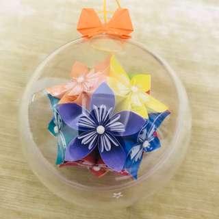 摺紙櫻花球