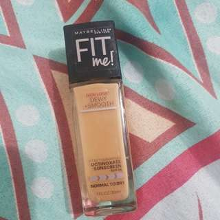 FIT ME foundation Dewy+smooth