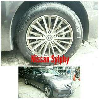 Tyre 205/60 R16 Membat on Nissan Sylphy 🐕 Super Offer 🙋♂️