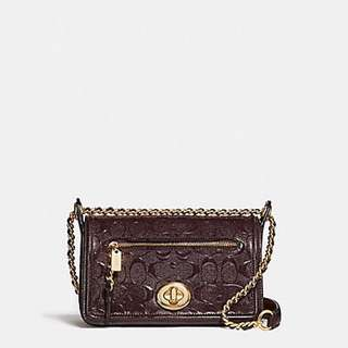 Coach Lex Small Flap Crossbody Bag