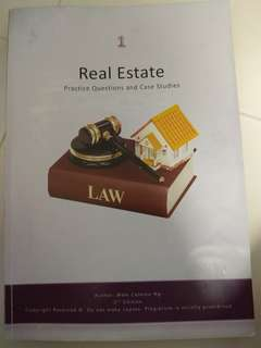 Real Estate Practice Questions & Case Studies latest edition