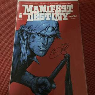 Image Manifest Destiny #5 (Signed by Dingess)