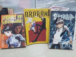 Neon Genesis Evangelion, Candidate Goddess, Demon Ororon manga
