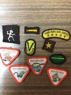 香港女童軍布章