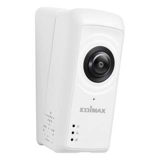 Edimax Smart Full HD Wi-Fi Fisheye Cloud Camera with 180-Degree Panoramic View for HDB, Condo and homes IC-5150W