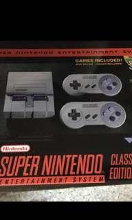 SNES Super Nintendo Classic