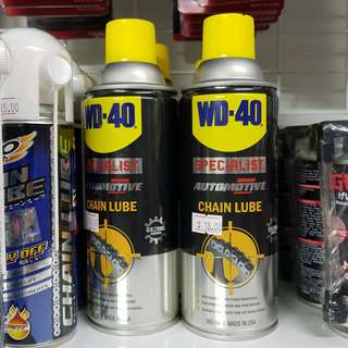 WD-40 Automotive Chain Lube Spray