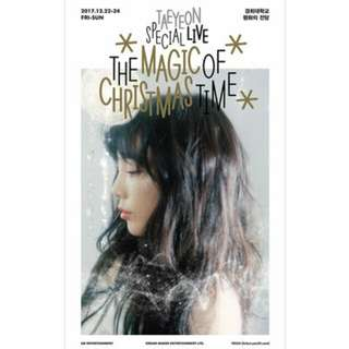 [PREORDER] Taeyeon - Taeyeon Special Live The Magic of Christmas Time