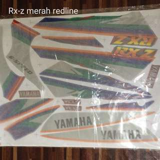 Rx-z cover sticker