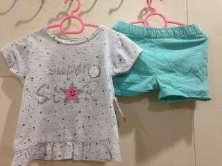 Top & Shorts Set