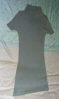 Body con dress (gray)