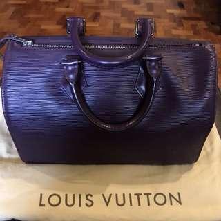 Louis Vuitton Speedy 30 Epi Cassis