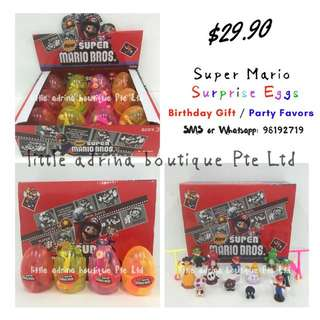 Super Mario Surprise Eggs / Party Favor / Birthday Gift