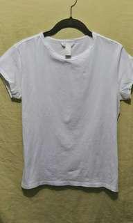 H&M Basic white shirt