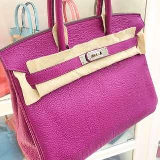 Hermes Birkin 30 K5 Tosca togo 玫紫色🌈好美!hkd 8****