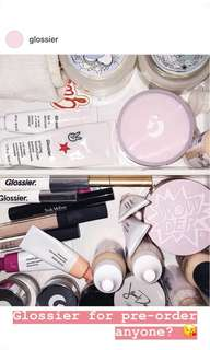GLOSSIER PRODUCTS - Pre-Order
