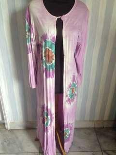 Outer panjang tie dye