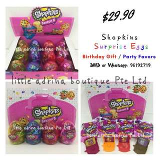 Shopkins Surprise Eggs / Party Favor / Birthday Gift