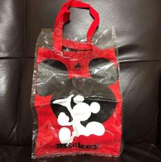 絕版迪士尼 Disney 十週年米奇老鼠 Mickey Mouse 環保袋