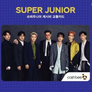 Super Junior Cashbee Card