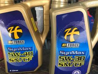 Full synthetic engine oil