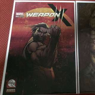 Marvel Weapon X #1 Michael Turner Variant A