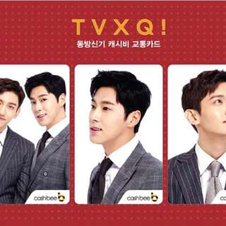 TVXQ Cashbee Card