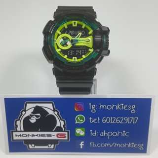 USED G-Shock GA-400LY-1A (Like New)