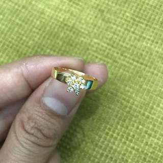 14 karat diamond rositas ring 1.6 grams