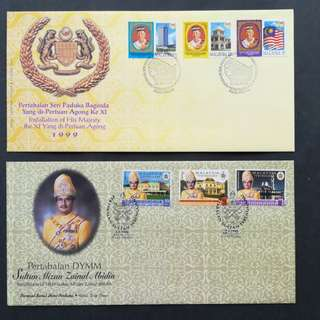 Combo Sales- Malaysia First Day Cover
