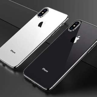 全新 iPhone X 太空灰電鍍邊硬殻