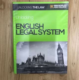Unlocking English Legal System